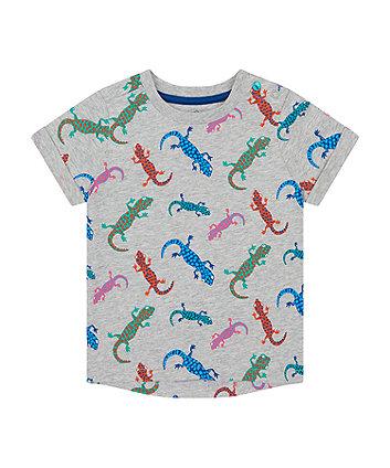 Mothercare Grey Gecko T-Shirt
