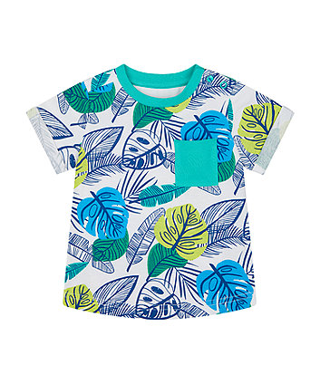 Mothercare Tropical Leaves T-Shirt