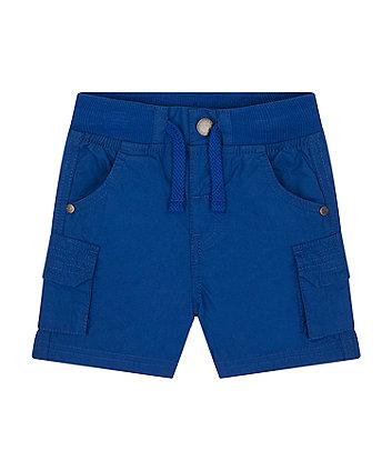 Mothercare Blue Cargo Shorts