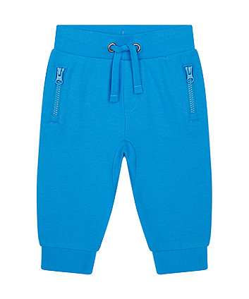Mothercare Blue Joggers