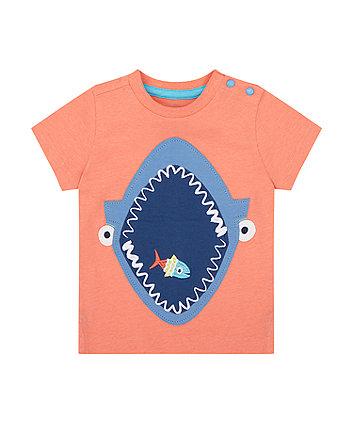 Mothercare Shark T-Shirt
