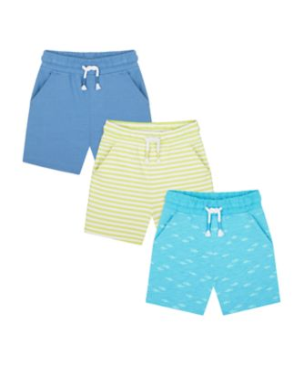 Mothercare Surf And Turf Shorts - 3 Pack