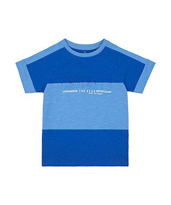 Mothercare Blue Navigate T-Shirt