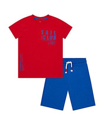 Mothercare Sail Club T-Shirt And Shorts Set