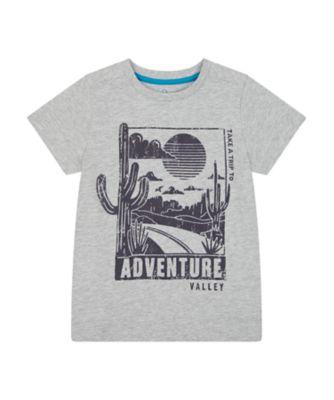 Mothercare Road Trip Grey Adventure Epp Short Sleeve T-Shirt