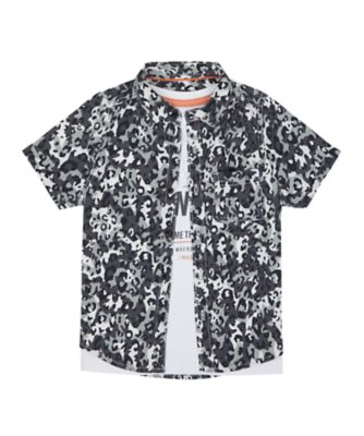 Mothercare Road Trip Adventure Shirt And T-Shirt