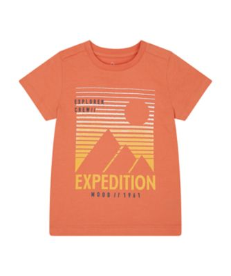 Mothercare Road Trip Rust Expedition Uber Short Sleeve T-Shirt