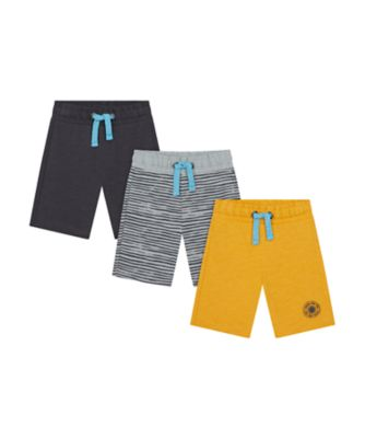 Mothercare Road Trip Shorts - 3 Pack