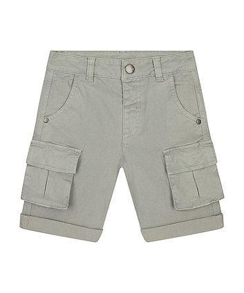 Mothercare Grey Cargo Shorts