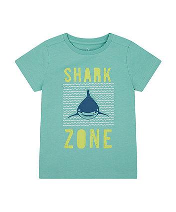 Mothercare Shark Zone T-Shirt