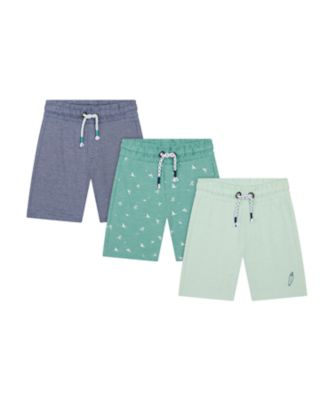 Mothercare Save The Waves Shorts - 3 Pack