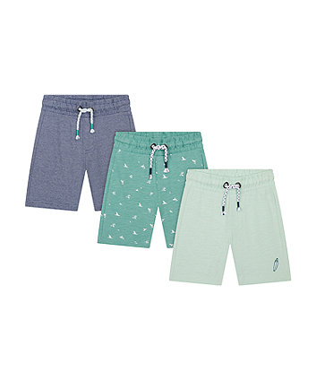 Mothercare Surf Shorts - 3 Pack
