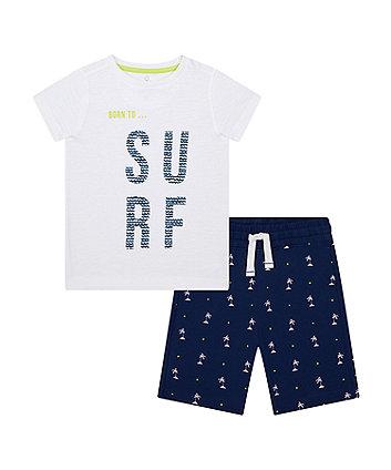 Mothercare Surf T-Shirt And Shorts Set