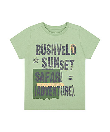 Mothercare Safari Adventure T-Shirt