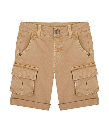 Mothercare Stone Cargo Shorts