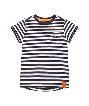 Mothercare Striped Adventure T-Shirt