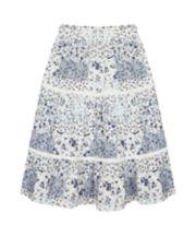 Mothercare Long Flower Skirt