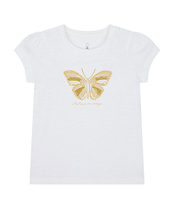 Mothercare Believe In Magic Butterfly T-Shirt