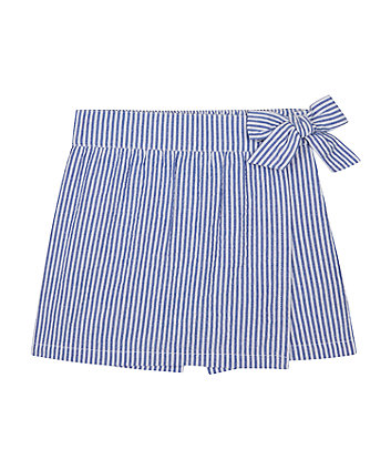 Mothercare Striped Wrap Skorts