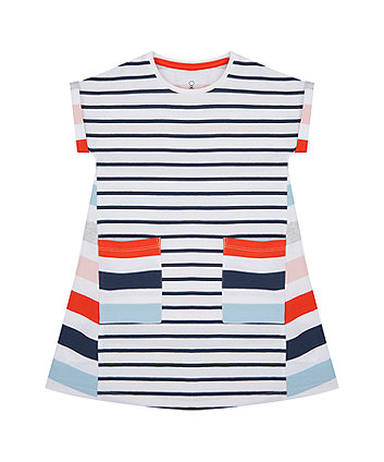 Mothercare Striped Jersey Dress
