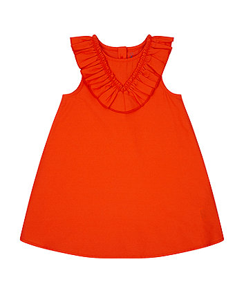 Mothercare Red Frill Dress