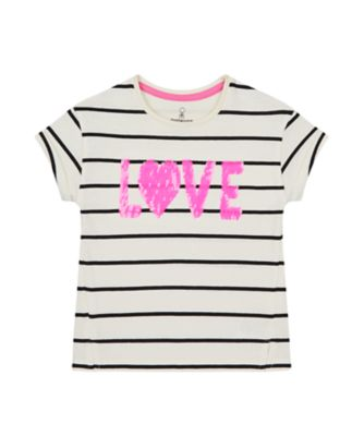 Mothercare Summer Rebel Stripe Graphic Best T-Shirt