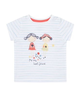 Mothercare Nautical Stripe Girl Epp Short Sleeve T-Shirt