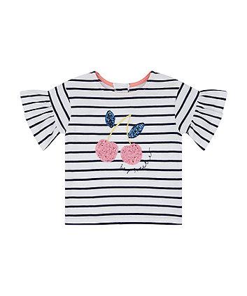 Mothercare Mothercare White Pique Polo T-Shirt