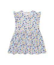 White Floral Jersey Dress [SS21]