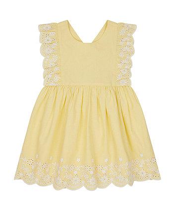 Yellow Cross-Back Sun Dress [SS21]