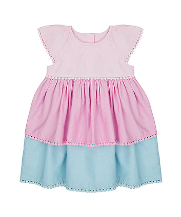 Mothercare Woven Tiered Dress