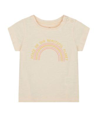 Mothercare Santa Fe Pink Uber Short Sleeve T-Shirt