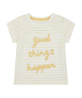 Mothercare Santa Fe Good Things Epp Short Sleeve T-Shirt