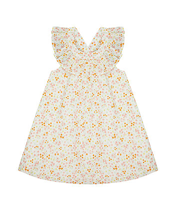 Mothercare Floral Frill Dress