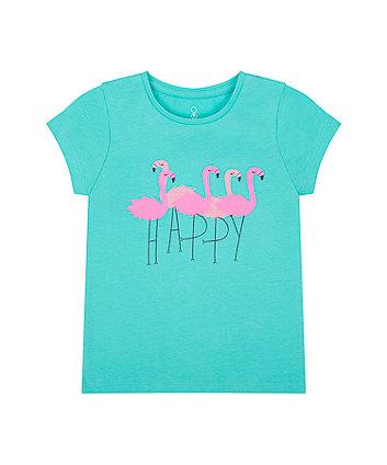 Mothercare Happy Flamingo T-Shirt