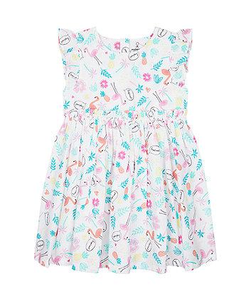 Mothercare Tropical Woven Dress