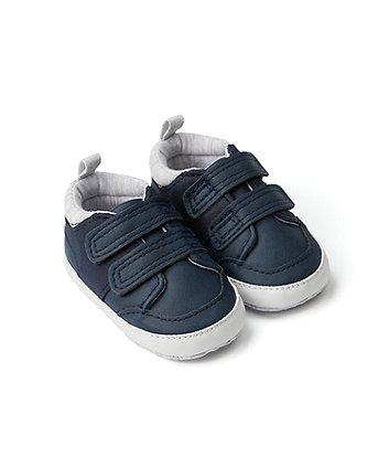 Mothercare Navy Pram Trainers