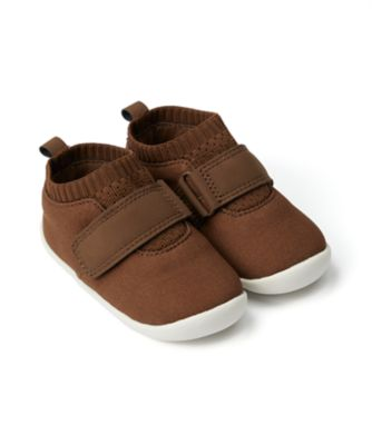Mothercare Baby Boy Tan Crawler - First Walker