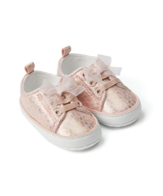 Mothercare Baby Girl Pink Animal Pram Trainer