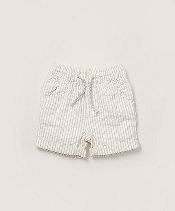 Mothercare Blue Striped Shorts