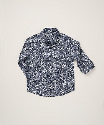 Mothercare Navy Printed Shirt
