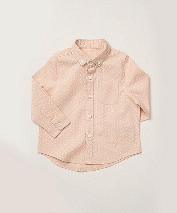Mothercare Pink Printed Shirt