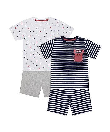 Seaside Shortie Pyjamas - 2 Pack [SS21]