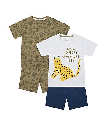 Adventure Shortie Pyjamas - 2 Pack [SS21]