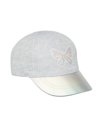 Mothercare Girls Butterfly Shimmer Cap