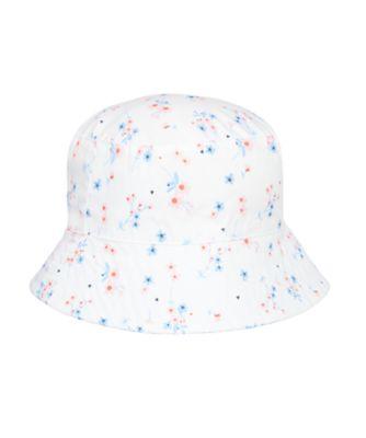 Mothercare Girls Floral Fisherman Hat