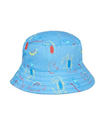 Mothercare Boys Dinosaur Print Fishmerman Hat