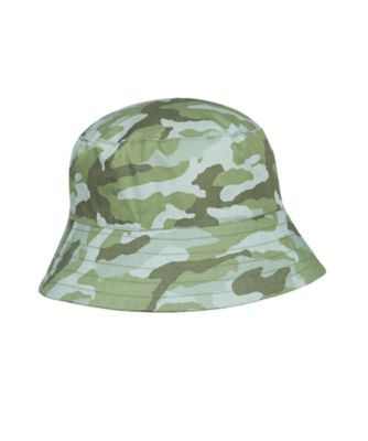 Mothercare Boys Camo Reversable Fisherman Hat