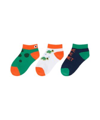 Mothercare Boys Save The Planet Socks - 3 Pack