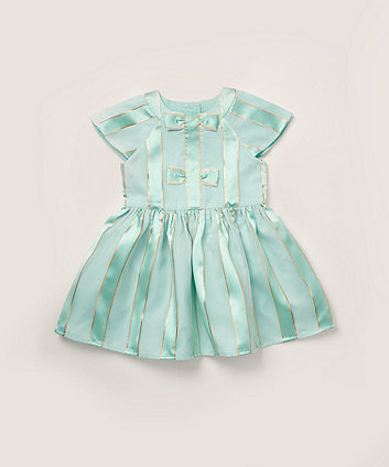 Mothercare Mint Striped Dress